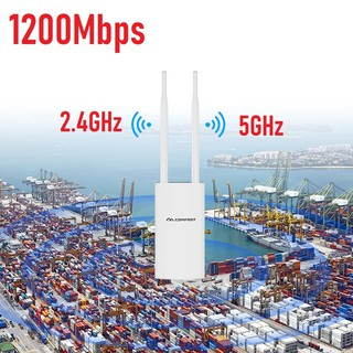 1200Mbs Dual-Band 2.4+5GHz Outdoor Wireless AP Router WiFi Repeater Router Bridge WiFi Access Point
