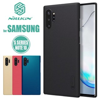 Review Samsung Galaxy Note 10/10+ เคส NILLKIN Super Frosted Shield ฟรี...ขาตั้งเคส ของแท้💯%