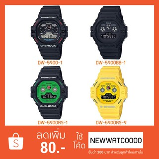 Review CASIO G-SHOCK DW-5900/DW-5900BB/DW-5900RS RETRO SERIES