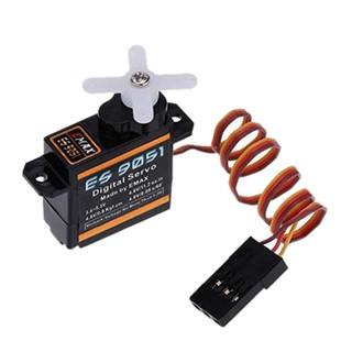 Review EMAX 1 ชิ้น 4.8 V es9051 Digital Servo EMAX สำหรับ 3 D f3p Airplane RC Remote Control Fixed Wing