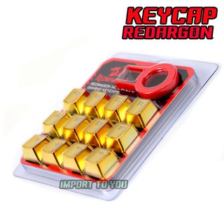 Review REDRAGON 12 Keycap PBT COLOR ALL MECHANICAL (สีทอง โครเมี่ยม)