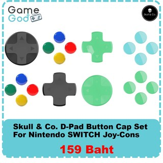 Skull & Co. D-Pad Button Cap Set for Nintendo Switch Jo