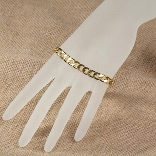Image # 2 of Review มีสินค้าGorgeous Gold Plated Chunky Link Chain Bracelet Bangle Gift for Women