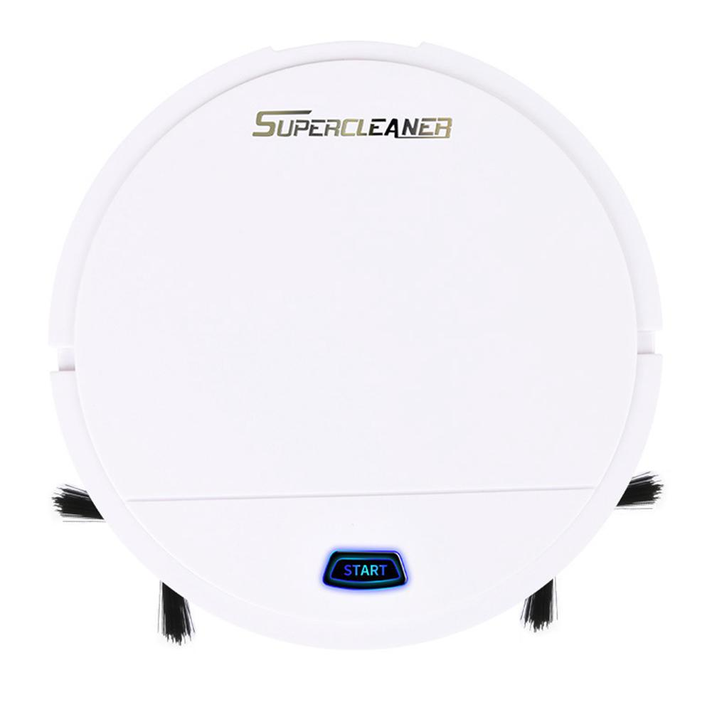 Review Automatic Dust Gift Hair Home Office Sweeping Robot USB Rechargeable Vacuum Cleaner