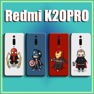 Review เคส Case XIAOMI 9 9SE 8 SE lite REDMI 7 NOTE7 K20 PRO A Cartoon lovely TheAvengers Spiderman iron Man Raytheon soft case