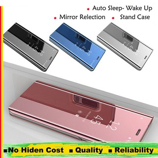 Review Vivo V7 Plus V9 Y69 Y71 Y81 Y81i Y83 Y85  Flip Folio Phone เคส Stand Mirror Vivo V7 Cover Case Vivo V7 Plus เคสฝาพับ