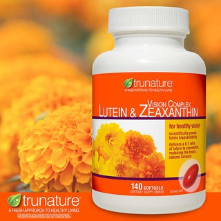 Review Trunature® Vision Complex Lutein & Zeaxanthin, 140 Softgels