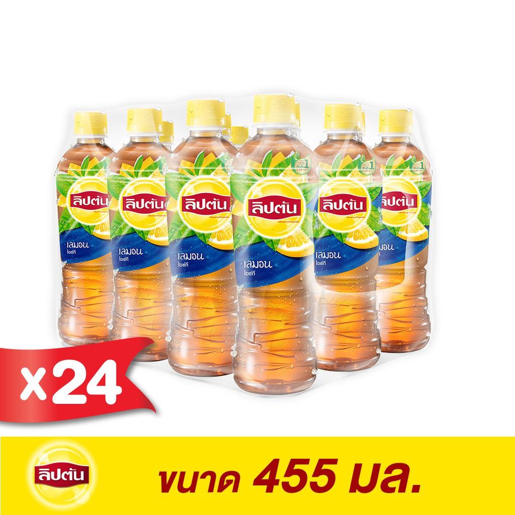 ลิปตัน เลมอน ขวด ขนาด 445 มล. (แพ็ค 24)(PepsiCo)