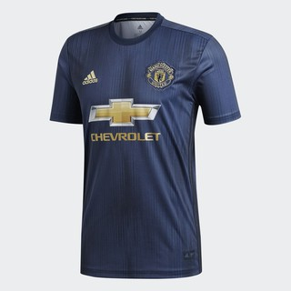 Review Adidas เสื้อฟุตบอล Manchester United 3rd Jersey 18/19 DP6022 (Navy)
