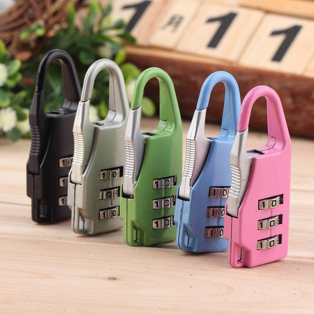 Review ❀fmd❀Mini 3 Digit Combination Security Safe Travel Suitcase Luggage Password Padlock