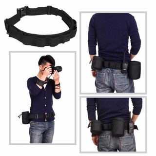Review JJ CAMERA Belt Lens Case Pouch Bag Holder Pack Strap for DSLR/Lens