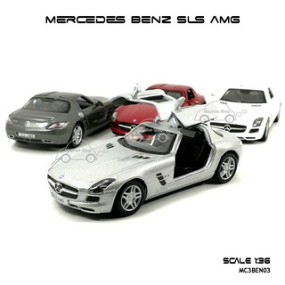 Review โมเดลรถ MERCEDES BENZ SLS AMG (Scale 1:36)