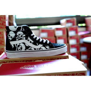 Image # 5 of Review 【VANS】SK8 (Hi) - Skulls/Black/True White การันตีของแท้ 100% by www.WeSneaker.com : VANS Authorized Online Dealer