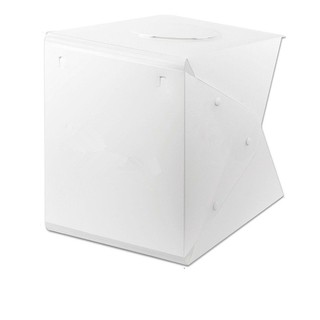 Image # 5 of Review Ifone Portable 40CM Photography Lighting Cube Tent Photo Studio Light Box 2-LED-Strips