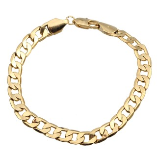 Image # 3 of Review มีสินค้าGorgeous Gold Plated Chunky Link Chain Bracelet Bangle Gift for Women