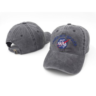 Review Adjustable หมวก NASA I need my space Unisex Golf Strapback ส่วนลด100 บาท โค้ด