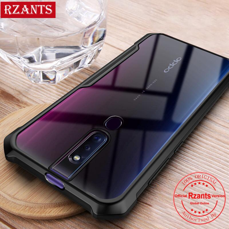 Review For OPPO F11 Pro F11 A5S Realme X OPPO K3 เคส Case เคสโทรศัพท์【Transparent Back】 Casing ShockProof Slim เคสมือถือ Cover