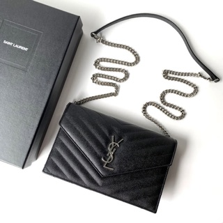 Review YSL Woc 7.5 in Black Silver