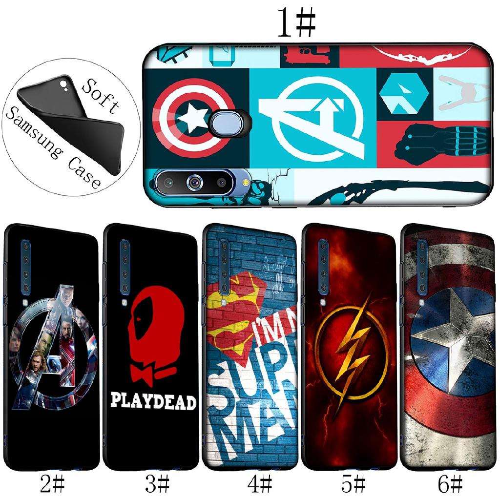 Review เคสมือถือ Samsung Galaxy A 10 A 30 A 70 M 10 M 20 M 30 Soft Cover The Avengers Marvel DEADPOOL Captain America