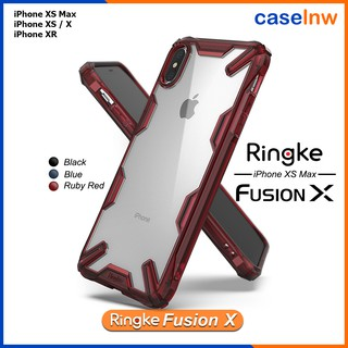 Review [iPhone] เคสใสกันกระแทก Rearth Ringke Fusion X iPhone XS Max / XS / X / XR / 8 / 7