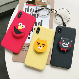 Review Xiaomi Redmi 4A 4X 5A 6 6A GO 5 Plus Note 4 4x 5 5A Prime 6 7 K20 Pro Phone Case Cartoon Stand Airbag Back Soft Cover