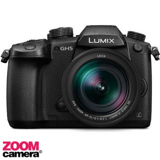 Panasonic Camera Lumix DC-GH5 With Kit Lens 12-60mm (ประกันศูนย์ Body 2 ปี Lens