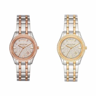 Review Michael kors kileypave ladies twotone mk6481&mk6482