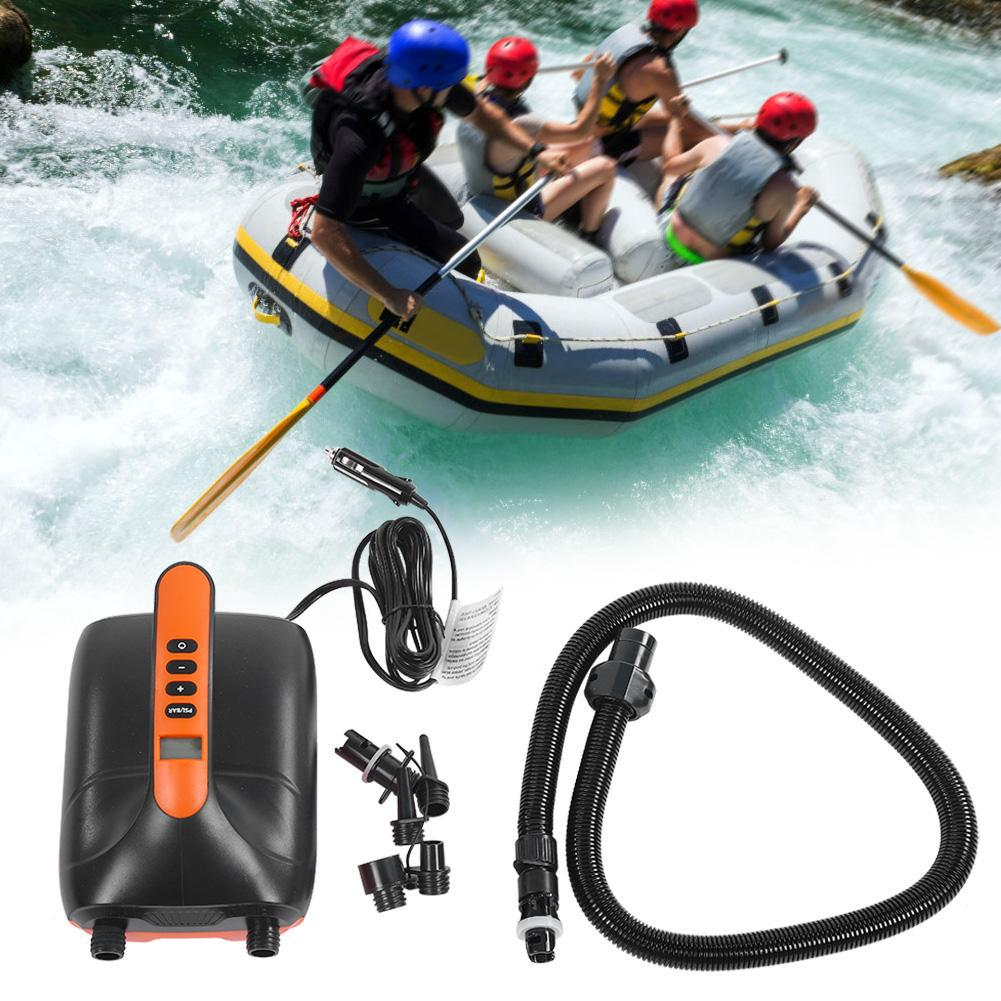 Review High Pressure Portable 12V Digital Air Pump for SUP & Paddle Board