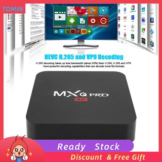 The best กล่องสำหรับ Smart 4K WIFI 1 + 8 G 7 BT Smart HD RK 3229 Media Android 1 MXQ TV