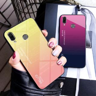 Review Casing Asus Zenfone Max Pro M1 ZB601KL ZB602KL Phone Case Gradient Tempred Glass Cover
