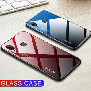 Review ASUS Zenfone Max Pro M2 ZB633KL ZB631KL M1 ZB601KL ZB602K Gradient 9H Tempered Glass Case Back Cover