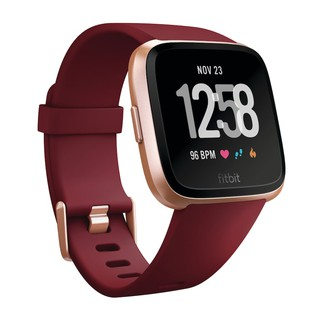 Review FITBIT  Versa(NFC)Ruby Band Rose Gold  ของแท้