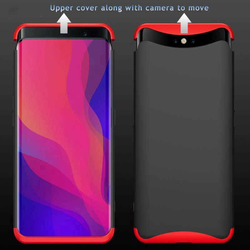 Review OPPO Find X 3 in 1 Hard Matte Case Full Protection