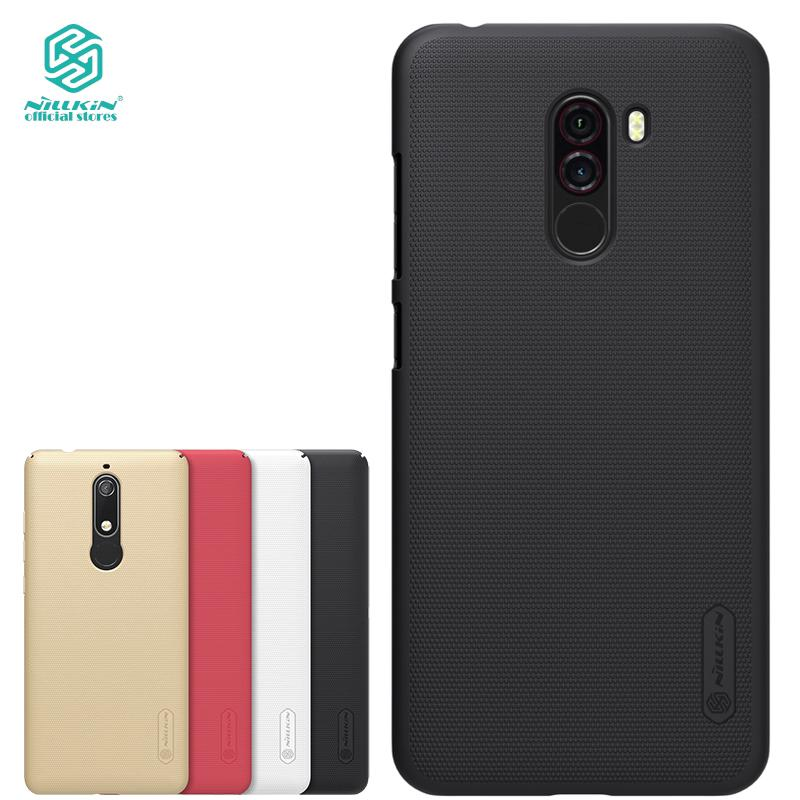 Review Nillkin Xiaomi Pocophone F1 and Poco F1 case thin PC Matte hard phone back cover
