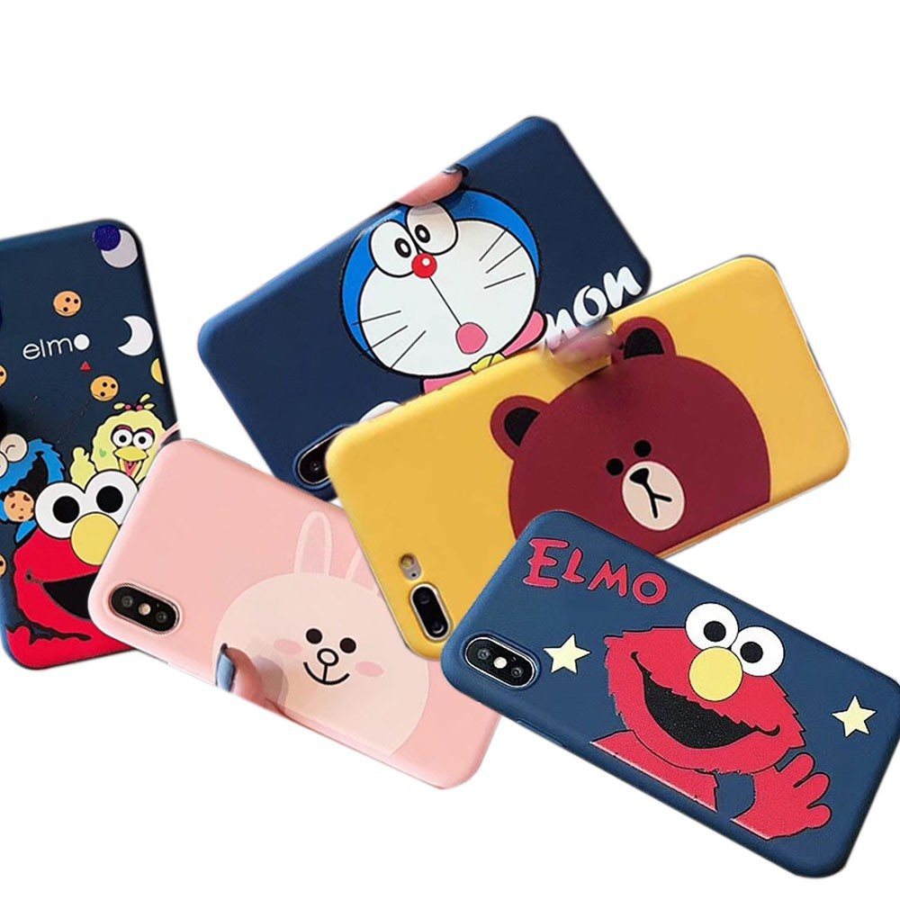 Image # 0 of Review Line Friends/Doraemon เคส iphone6 i7/8 tpu case iphone7/8 plus เคส tpu iphone6plus soft case iphoneX เคสไอโฟน