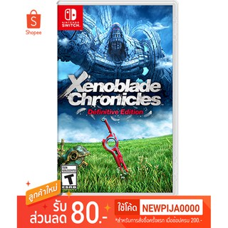 Ninendo switch Xenoblade Chonicles Definitive Edition U