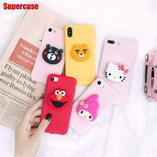 Review Xiaomi Mi 9T Pro Redmi K20 Pro 7A Go Note 7 6 Pro 6A 5A Case Holder Hello Kitty Melody Sesame Street Cover