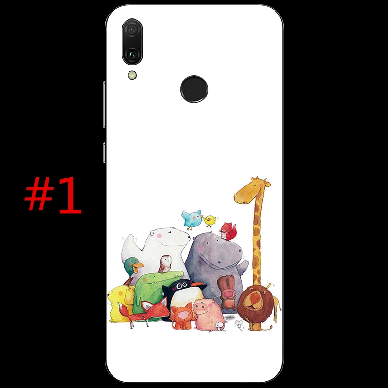 Image # 1 of Review เคส Cute Cat TPU Soft Case Asus ZenFone Max Pro M1 ZB601KL/ZB602KL/ZB570TL/ZB501KL