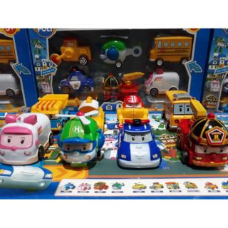 Review ROBOCAR POLI SET8คัน