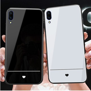 Review Vivo X27 X27 Pro X23 X21 Vivo Z5X Y17 Y3 V15 S1 IQOO Y93 Y85 Y83 Y79 Y67 3D Cute Heart Tempered Glass Phone Case Cover