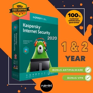 Kaspersky Internet Security 2020 - ของแท้
