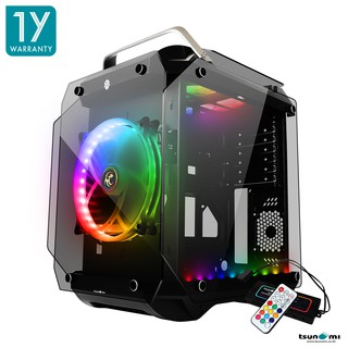 Tsunami Coolman Gorilla Super ATX ( Best aero-cooling solution) Gaming Computer Cas