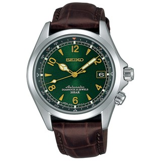 SEIKO SARB017 Mechanical Alpinist Automatic Mens Leather Watch - Made In