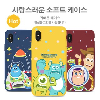 Review iPhone 5 5S SE 6 6S 7 8 Plus X XR XS Max Case Monstruos University Monster Toy Story กรณีนุ่ม