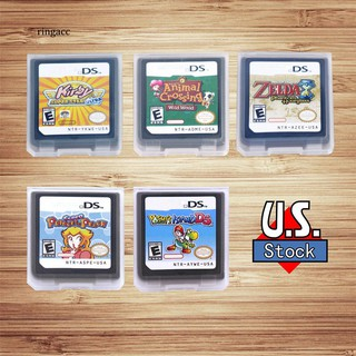 Review 【RAC】Animal/Zelda/Kirby/Princess/Toshi US Game Cartridge Card for Nintendo DS NDSI
