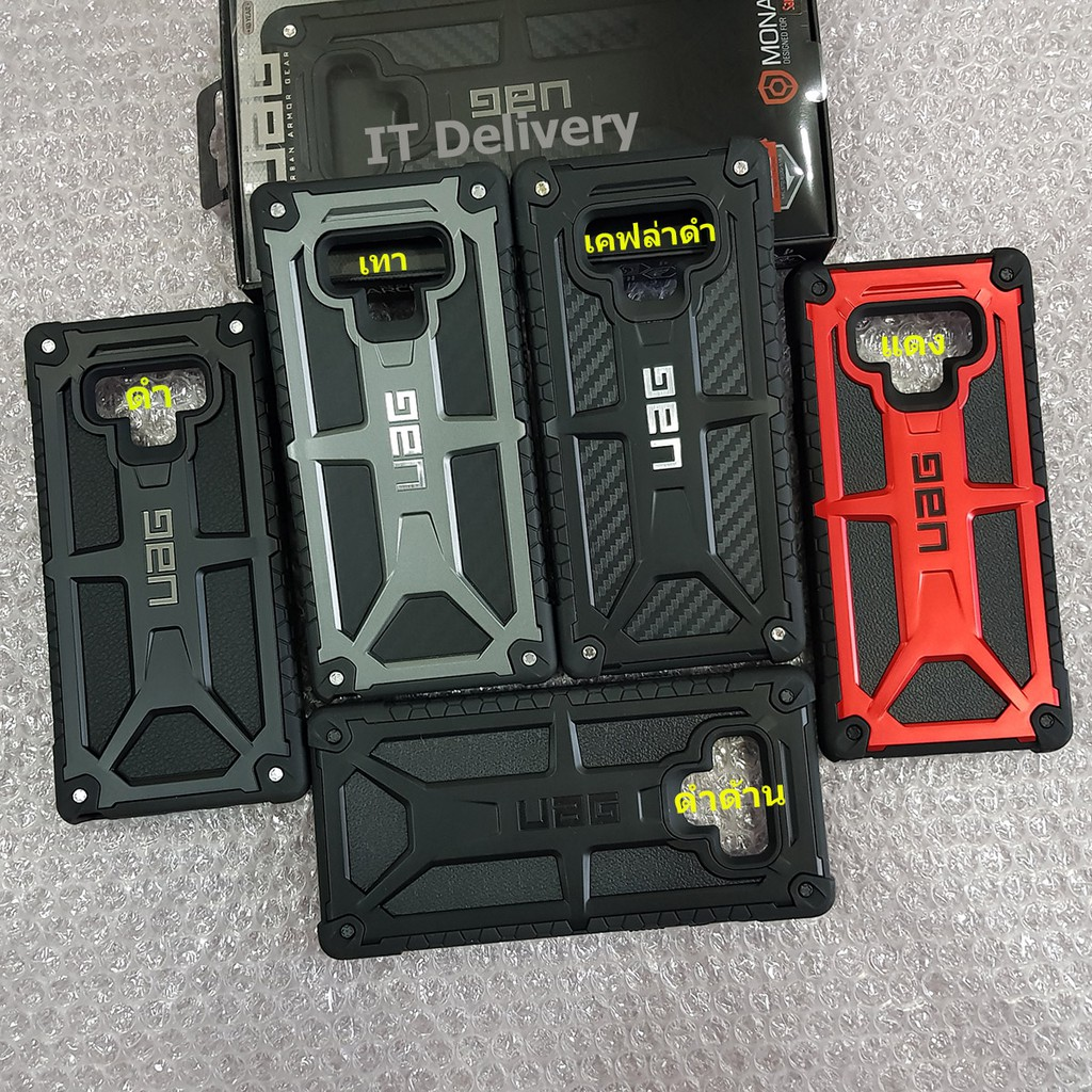 Image # 4 of Review UAG เคส Samsung Galaxy Note 9/Note 8/S9+/S8+/S8 เคสกันกระแทก UAG Monarch