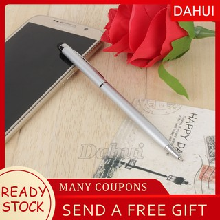 Review DahuiSuperSale 0.7MM Refill 2 in 1 Capacitive Touch Screen Universal Stylus Ball Point Pen