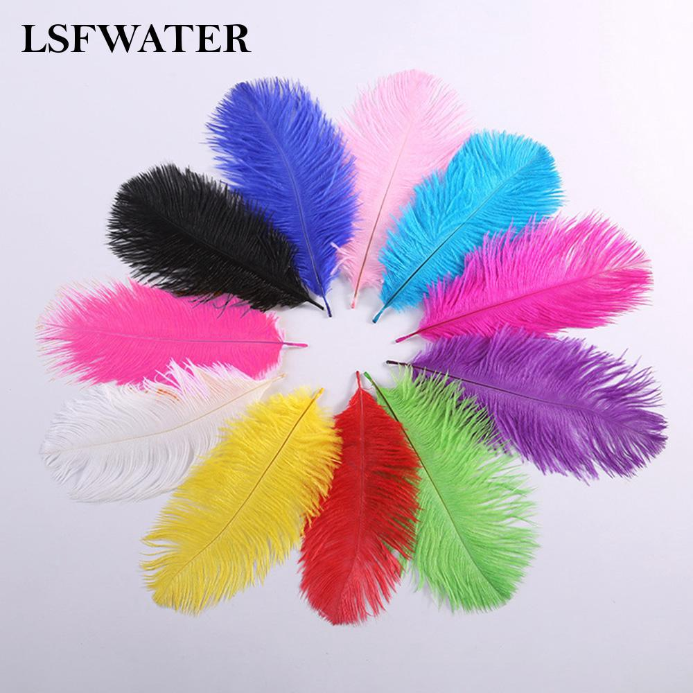 Review Ostrich Feather 15-20cm Home Decoration For Party Wedding DIY Craft Great
