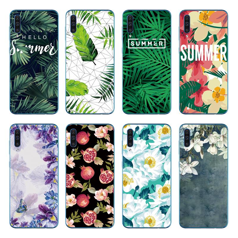 Review เคส Leaf Flower Soft Cover Samsung Galaxy A70 A50 A40 A30 A20 A10 TPU Case