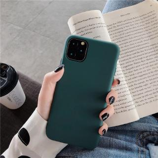Casing Samsung Galaxy A8 A6 Plus J6 J8 J5 J3 J7 Pro Prime Silicone Dark Green Liquid Ultra Thin Candy Color Soft TPU Case